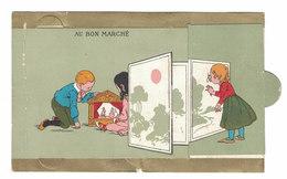 FIGURINA CROMOLITOGRAFIA PUBBLICITARIA  AU BON MARCHE'  Serie SIT16 - Au Bon Marché