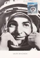 Carte-Maximum ALLEMAGNE RDA N° Yvert 674 (VALERI BYKOWSKI) Obl Sp Ill 1er Jour 1963 - DDR