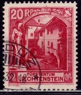 Liechtenstein, 1930, Furstentum, 20Rp, Sc#97, Used - Liechtenstein