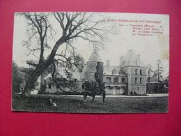 348.  -  TOCQUEVILLE  (Manche)  -  Le Château (côté Ouest) - Frankreich