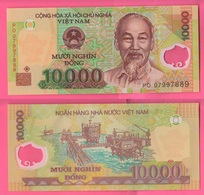 Vietnam Viêt-Nam 10.000 Dong Polimero - Vietnam