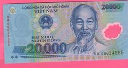 Vietnam Viêt-Nam 20.000 Dong Polimero - Vietnam
