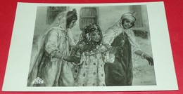 CARTE POSTALE ALGERIE : TABLEAU DU CELEBRE E.DINET , ETAT VOIR PHOTO  . POUR TOUT RENSEIGNEMENT ME CONTACTER. REGARDEZ M - Algiers