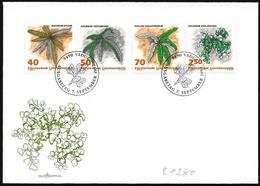 Liechtenstein: FDC, Felci Diversi, Different Ferns, Différentes Fougères - Vegetazione