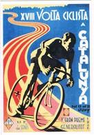 28867. Postal Repro Cartel VOLTA Ciclista Catalunya 1936. U.E. Sants - Cycling