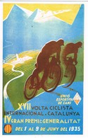 28868. Postal Repro Cartel VOLTA Ciclista Catalunya 1935. U.E. Sants - Cycling