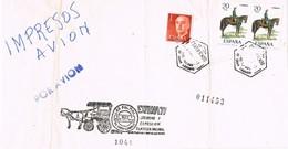 28869. Frontal Impresos Aereo Certificado LAS PALMAS (Canarias) 1977. Exfilna 77 - 1931-Hoy: 2ª República - ... Juan Carlos I