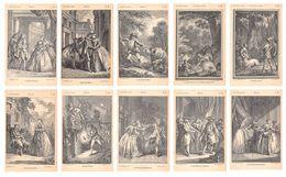 Lot De 30 CPA Série Les Œuvres Rares - Molière Et Les Contes De Fées - Gravures - Arts