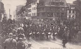 67. STRASBOURG . Entrée Solennelle Du Maréchal Pétain Le 25 Novembre 1918 . La Musique D'un Régiment De Zouaves - Strasbourg