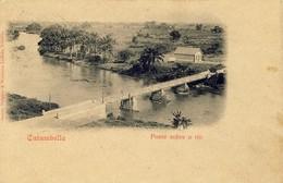 ANGOLA - Catumbella - Ponte Sobre O Rio - Angola