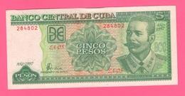 Cuba Cinco Pesos 1997 - Cuba