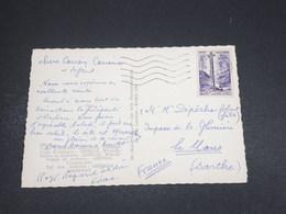 ANDORRE - Affranchissement De Andorre La Vieille Sur Carte Postale En 1960 - L 18314 - Cartas