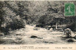19. La Correze Illustrée. Les Cascades De La Vienne à Servières Près Peyrelevade - Autres Communes