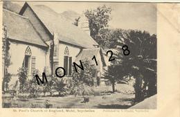 AFRIQUE SEYCHELLES - MAHE -ST PAUL'S CHURCH OF ENGLAND - Seychelles