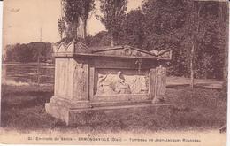 CPA  -  121. Env De SENLIS (Oise) - ERMENONVILLE - Tombeau De JJ ROUSSEAU - Ermenonville