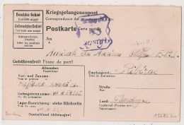 STAMMLAGER III D BERLIN  Allemagne. PRISONNIER DE GUERRE Pour RIBERAC. 1943. - Marcophilie (Lettres)