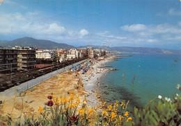 Cartolina Borghetto Santo Spirito Panorama E Spiaggia 1988 - Savona