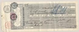 België - 1886 - 20c (en 10 C) Leopold II Op Factuur Denies & De Ruysscher Brussel - 1883 Leopold II