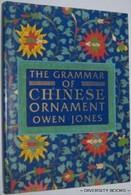 OWEN JONES - THE GRAMMAR CHINESE ORNAMENT - 1988 STUDIO EDITIONS - Libri, Riviste, Fumetti