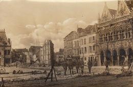 Photo Guerre WWI Ruines De Saint Quentin Militaire Allemand - War, Military