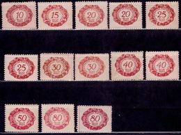 Liechtenstein, 1920, Postage Due, MH - Postage Due