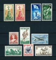 Nueva Zelanda  Nº Yvert  270/1-323/4-343/5-349/51  En Nuevo - Unused Stamps