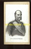 S.M. LE ROI DE PRUSSE - FORMAT CDV - Famous People