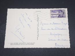 ANDORRE - Oblitération De Andorre La Vieille Sur Carte Postale Pour La France En 1960 - L 18335 - Cartas