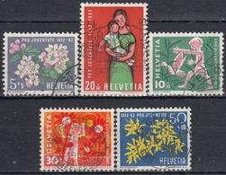SUIZA 1962 Nº 693/97 USADO - Suiza