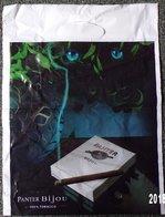 SAC TOBACCO TABAC PANTER BIJOU ÉDITEUR PLASTIQUE PUBLICITAIRE 40X30cm SACCUPLASTIKOPHILE COLLECTIONNEUR  - SITE Serbon63 - Books, Magazines, Comics