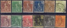 FRANCE ! Timbres Anciens D'INDOCHINE Depuis 1904 Dont Les N°36 Et 37 - France (ex-colonies & Protectorats)