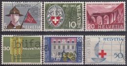 SUIZA 1963 Nº 705/10 USADO - Suiza