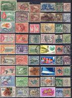 ROYAUME-UNI ! Timbres Anciens De Victoria, Singapour, Tasmanie Depuis 1865 - Grande-Bretagne (ex-colonies & Protectorats)