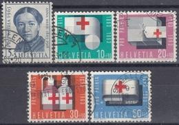SUIZA 1963 Nº 711/15 USADO - Suiza