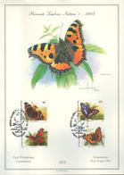 BUZIN / SOUVENIR DE 1993 AVEC OBLITERATION SPECIALE DE 1994 / COB 2503 A 2506 / IMPECCABLE - 1985-.. Oiseaux (Buzin)