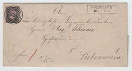 Preussen 1859 , Schöne Briefhülle Aus Dobrilugk - Preussen