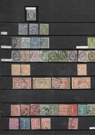 FRANCE 1862 - 1964 CAT YT  LOT  DE TIMBRES OBLITERES 16 SCANS - Timbres