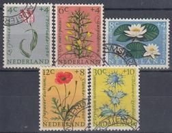 HOLANDA 1960 Nº 719/23 USADO - 1949-1980 (Juliana)
