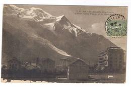 CHAMONIX  L HOTEL SAVOY PALACE ET LE MONT BLANC - Chamonix-Mont-Blanc