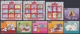 GAMBIA 1997 - Disney 101 Dalmatians - Mi 2684-2707 + B339-344; CV=74 € - Gambia (1965-...)