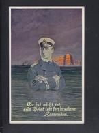 Dt. Reich PK Helgoland Marine Feldpost 1916 - Helgoland