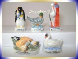 Oiseaux Migrateurs ... Lot De 5  ... Ref AFF :85-2003 ... (Pan 0017) - Animals