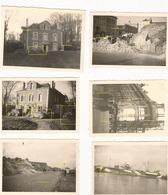 WW2 6x PHOTO ORIGINALE ALLEMANDE Scène OCCUPATION LE HAVRE 1940 - 1939-45