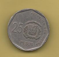 DOMINICANA  - 25 Pesos KM107 - Dominicaine