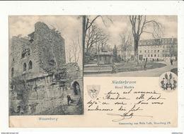 67 NIEDERBRONN HOTEL MATHIS WASENBURG - Niederbronn Les Bains