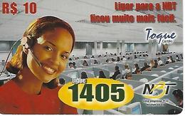 Phonecard Recharge NBT - Brésil