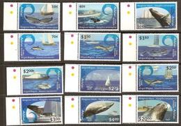 Aitutaki 2013 Yvertn° 662-673 *** MNH Cote 67 Euro Faune Baleines Et Dauphins Walvissen Dolfijnen - Aitutaki