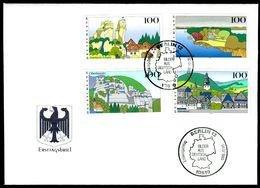 00618) BRD - Mi 1807 / 1810 - FDC - Bilder Aus Deutschland III - FDC: Brieven