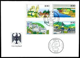 00619) BRD - Mi 1807 / 1810 - FDC - Bilder Aus Deutschland III - FDC: Brieven