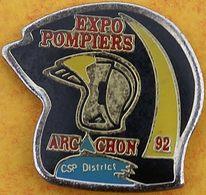 DD 52....  ECUSSON DES SAPEURS POMPIERS D ARCACHON..........département De La Gironde - Pompiers